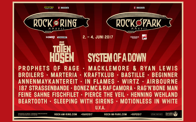 rock am ring tickets 2017