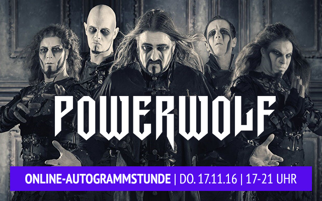 powerwolf online autogrammstunde eventim tickets tour 2017