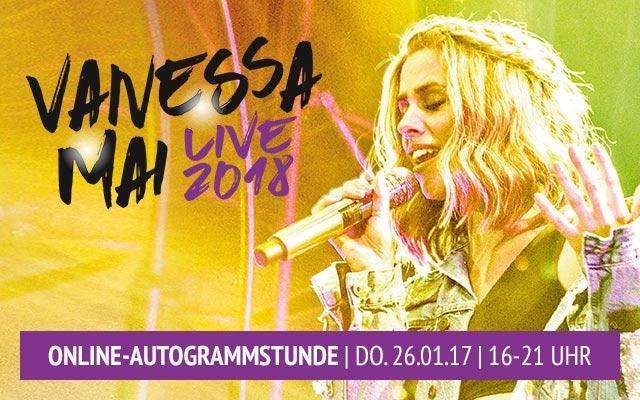 vanessa mai tour tickets 2018