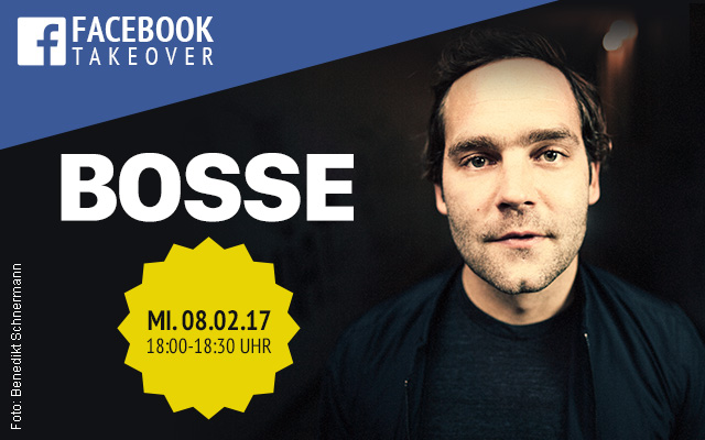 bosse facebook takeover tickets 2017
