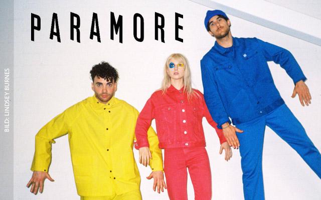 PARAMORE gehen im Sommer 2017 mit neuem Album auf Tour ... Paramore Tour